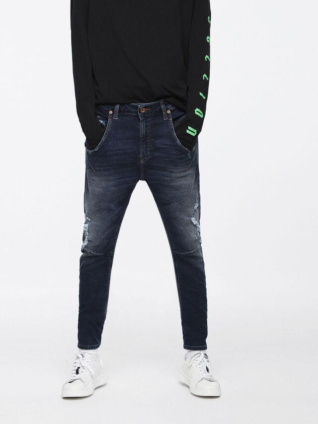 Diesel - Fayza JoggJeans 069BD, Dark Blue - Jeans - Image 1
