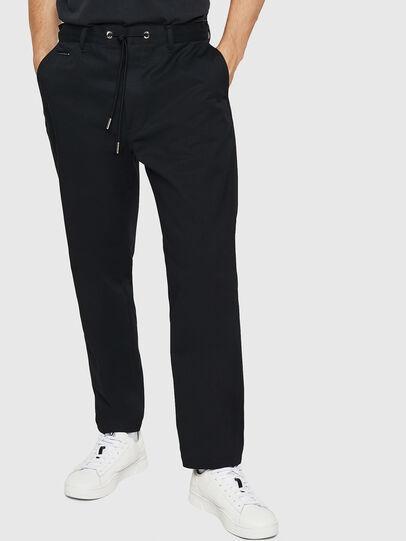 Diesel - P-MORGY, Black - Pants - Image 1