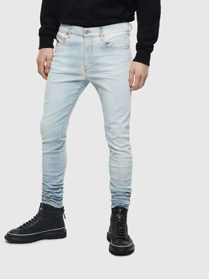D-Amny 009BE, Light Blue - Jeans