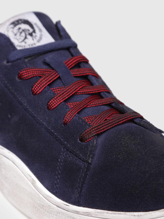 Diesel - S-CLEVER LOW, Dark Blue - Sneakers - Image 4