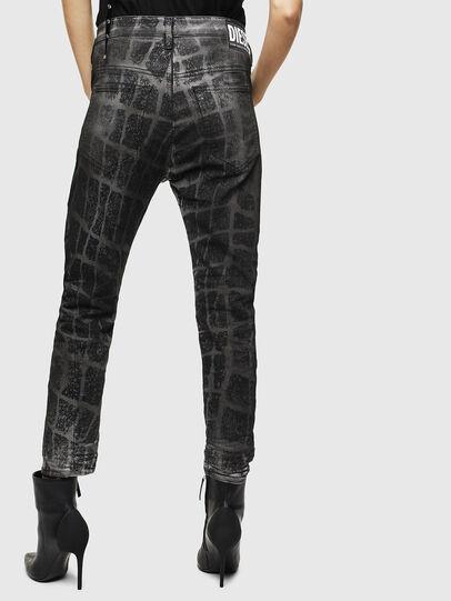Diesel - Fayza JoggJeans 0094M, Black/Dark grey - Jeans - Image 2