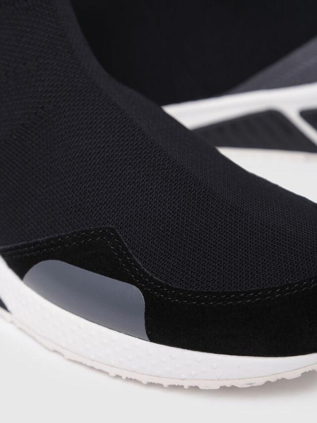 Diesel - S-KB SOCK W, Black/Blue - Sneakers - Image 4