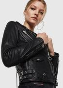 L-SINYA-A, Black - Leather jackets