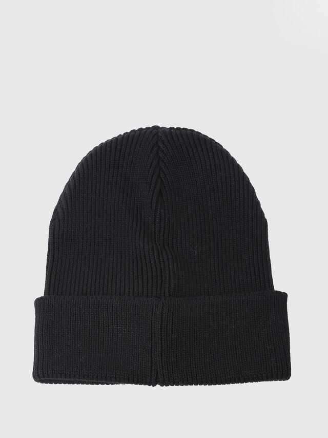 Diesel - K-LOGY, Black - Caps, Hats and Gloves - Image 2