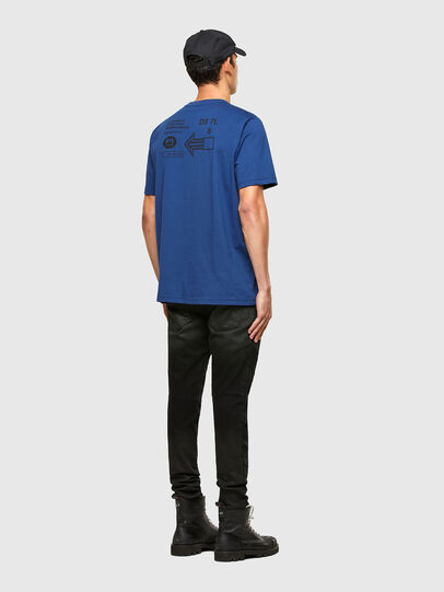 Diesel - T-JUST-A39, Blue - T-Shirts - Image 4