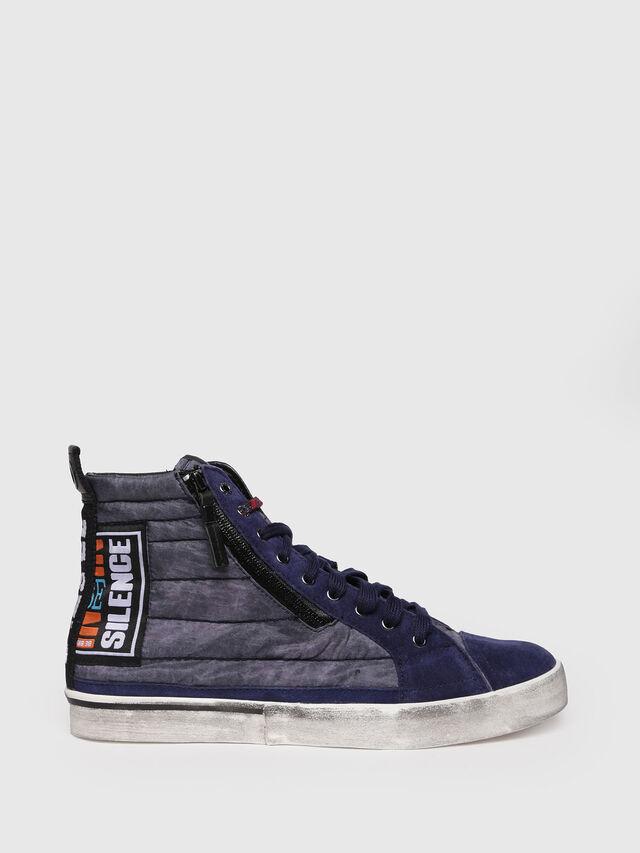 Diesel - D-VELOWS MID PATCH, Dark Blue - Sneakers - Image 1