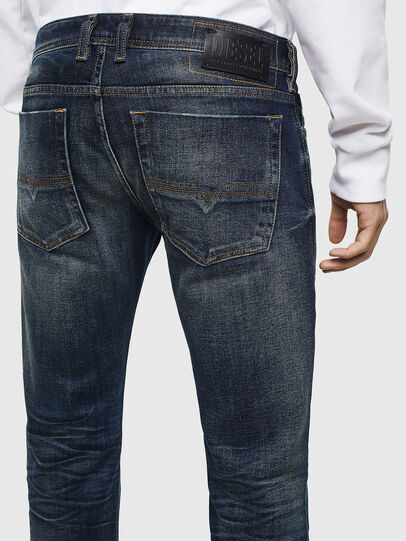 Diesel - Zatiny 0096U, Dark Blue - Jeans - Image 5