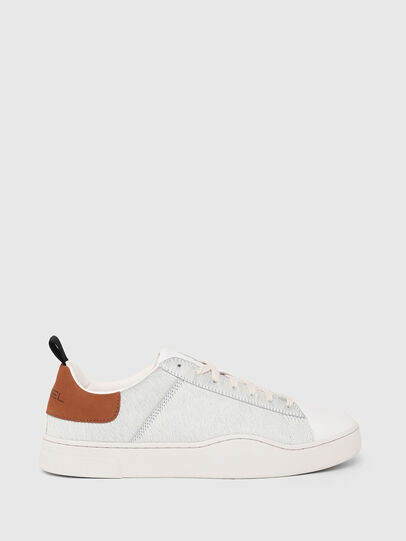 Diesel - S-CLEVER LOW LACE, White/Brown - Sneakers - Image 1
