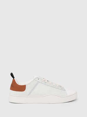 S-CLEVER LOW LACE, White/Brown - Sneakers