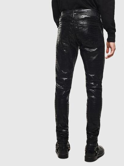 Diesel - D-Istort 0094S, Black/Dark grey - Jeans - Image 2