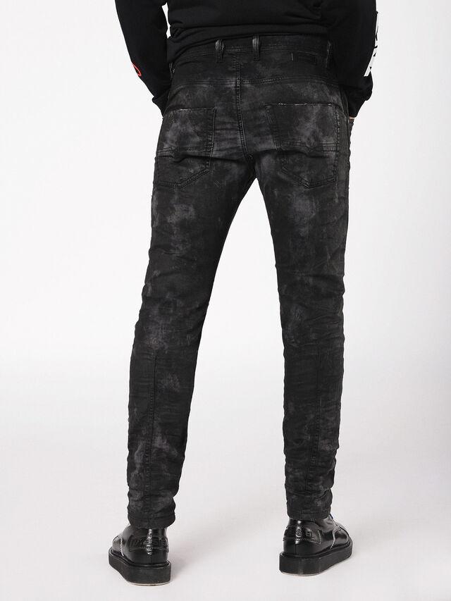Diesel - Krooley JoggJeans 069AS, Black/Dark grey - Jeans - Image 2