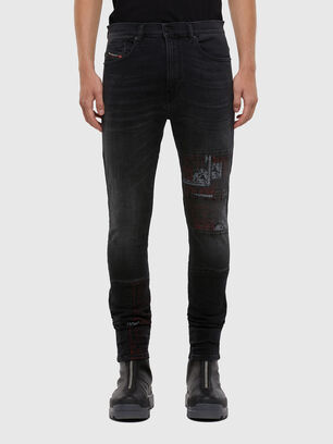 D-Amny 009KS, Black/Dark grey - Jeans
