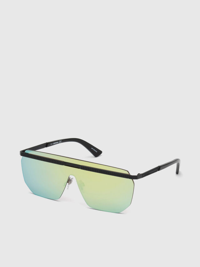 Diesel - DL0259, Green - Sunglasses - Image 2