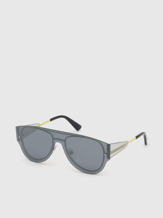 Diesel - DL0273, Black/Yellow - Eyewear - Image 2