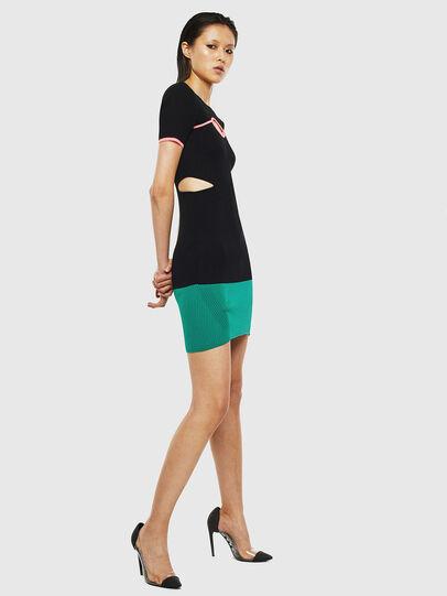 Diesel - M-BRA, Black/Green - Dresses - Image 6
