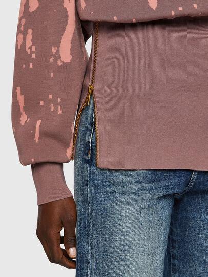 Diesel - M-ALABAMA, Pink - Knitwear - Image 4