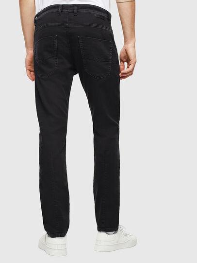 Diesel - Krooley JoggJeans 0687Z, Black/Dark grey - Jeans - Image 2
