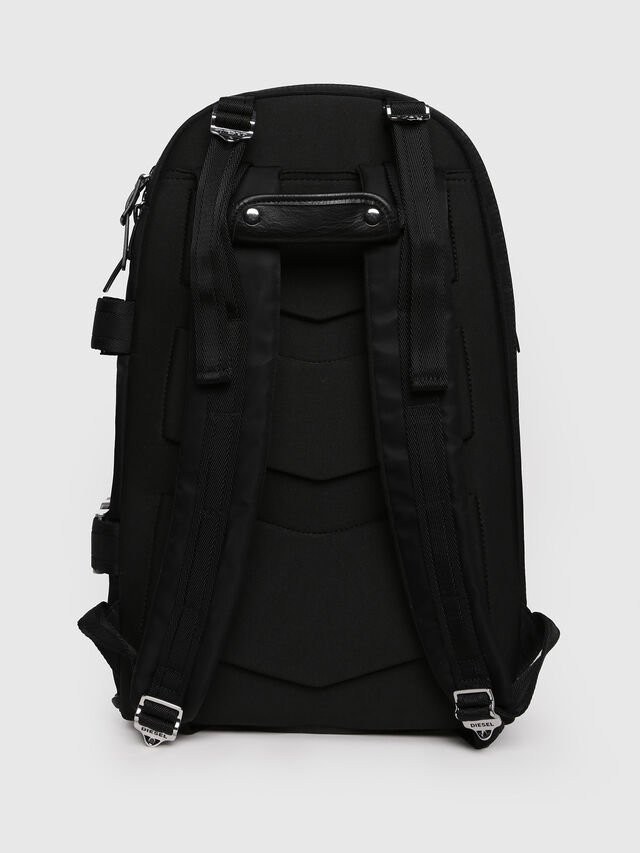 Diesel - F-LAW BACK, Black/Blue - Backpacks - Image 2