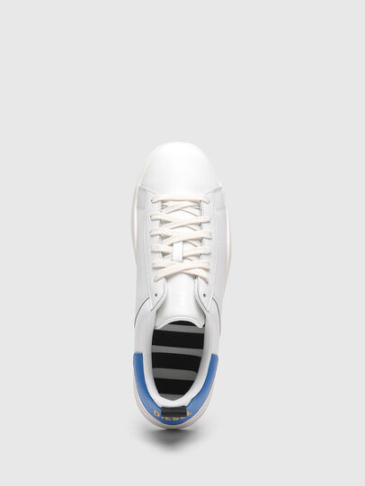 Diesel - S-CLEVER LOW LACE, White/Blue - Sneakers - Image 5