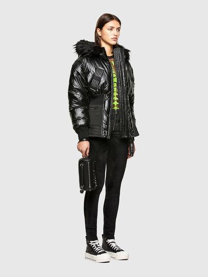 Diesel - W-ISOKE-SHINY, Black - Winter Jackets - Image 6