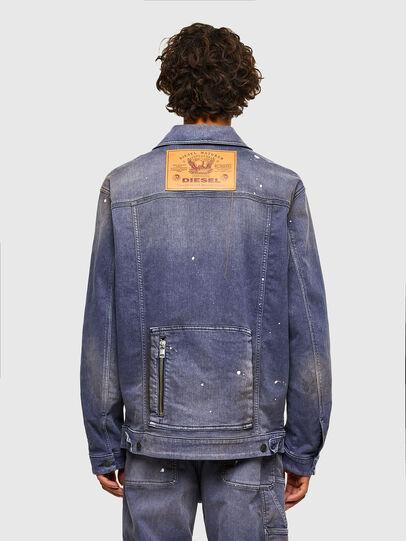 Diesel - D-ANTONY-SP, Medium blue - Denim Jackets - Image 2