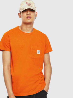 T-WORKY-MOHI-S1, Orange - T-Shirts