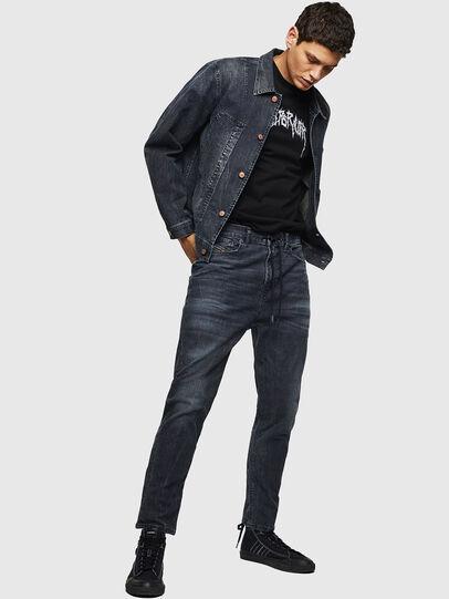 Diesel - D-Vider JoggJeans 0090H, Dark Blue - Jeans - Image 5