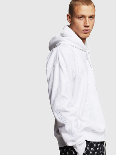 Diesel - S-ALBY-B5, White - Sweaters - Image 6