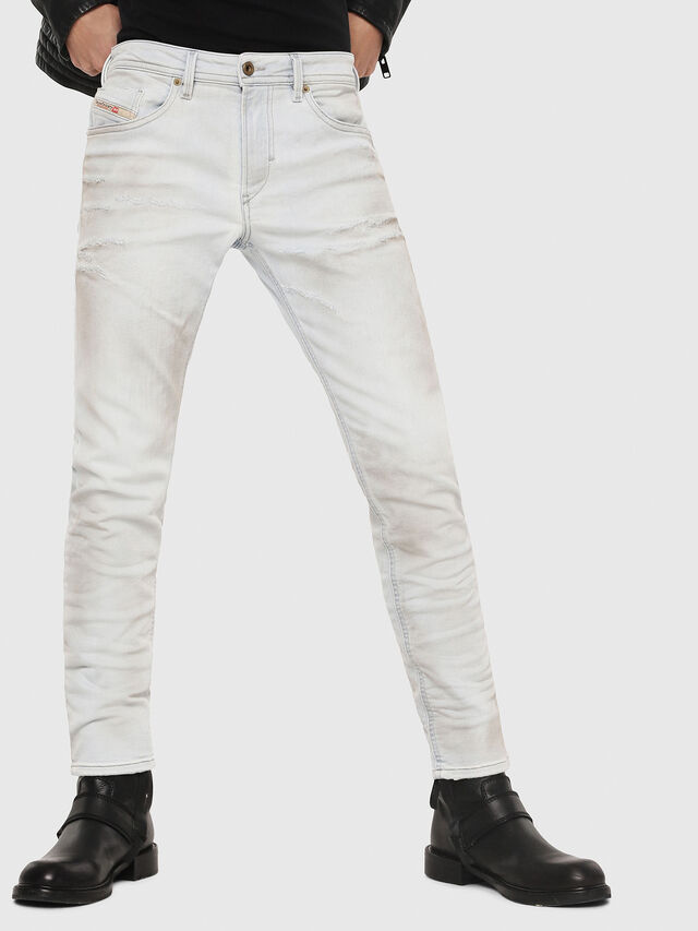 Diesel - Thommer JoggJeans 087AA, Light Blue - Jeans - Image 1