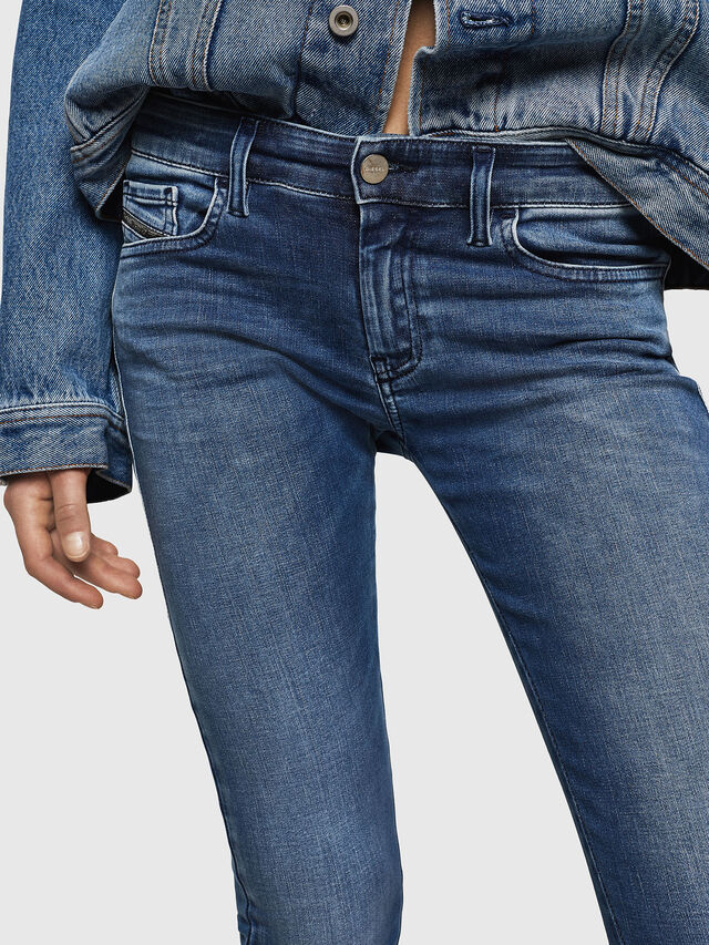 Diesel - Slandy Low 084NM, Medium blue - Jeans - Image 3