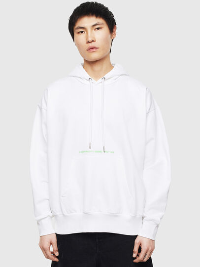 Diesel - S-ALBY-S2, White - Sweaters - Image 1