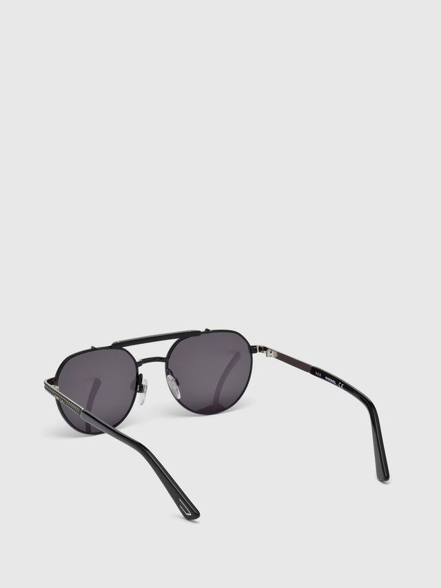 Diesel - DL0239, Black - Sunglasses - Image 2