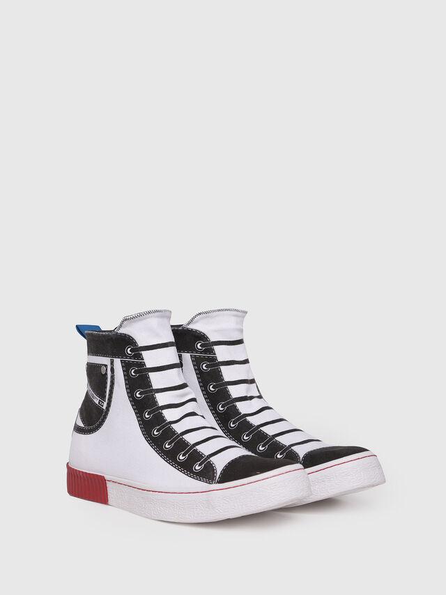 Diesel - S-DIESEL IMAGINEE MID, White - Sneakers - Image 3