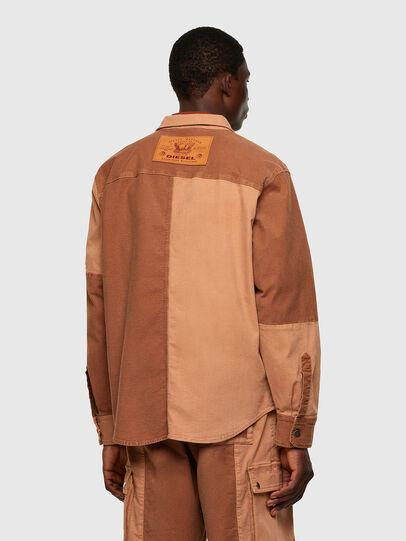 Diesel - D-CORUS-SP JOGGJEANS, Brown - Denim Shirts - Image 2