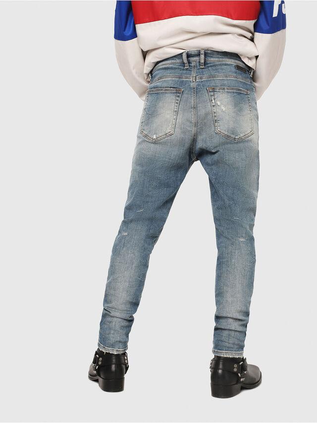 Diesel - D-Vider JoggJeans 087AD, Medium blue - Jeans - Image 2