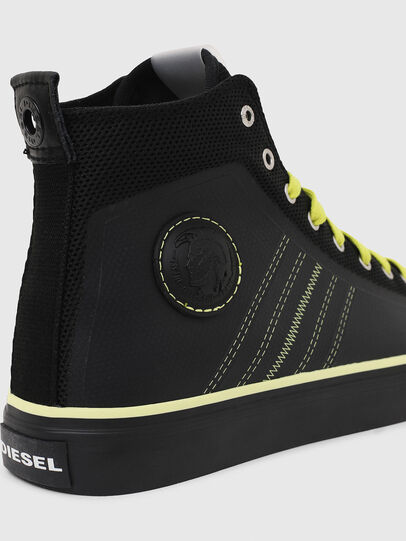 Diesel - S-ASTICO MC H, Black/Yellow - Sneakers - Image 5