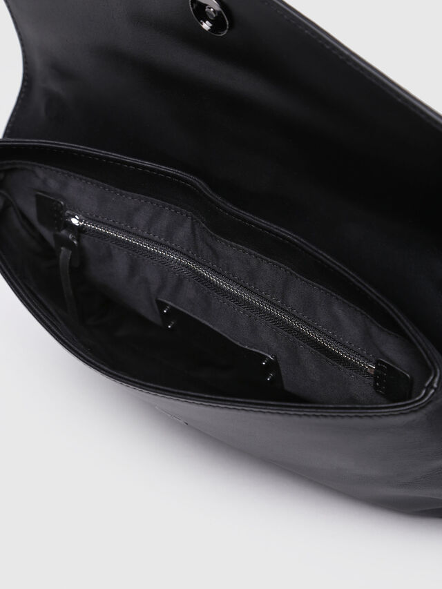 Diesel - MISS-MATCH CLUTCH, Black Leather - Clutches - Image 3
