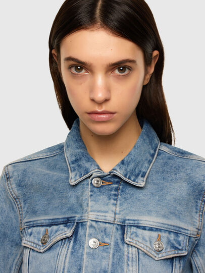 Diesel - DE-LIMMY, Light Blue - Denim Jackets - Image 3