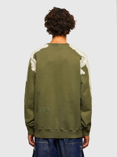 Diesel - S-GIRK-A62, Military Green - Sweaters - Image 2