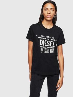 T-SILY-ZF, Black - T-Shirts