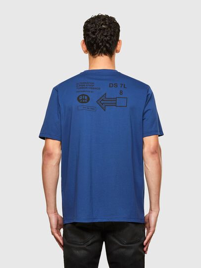 Diesel - T-JUST-A39, Blue - T-Shirts - Image 2