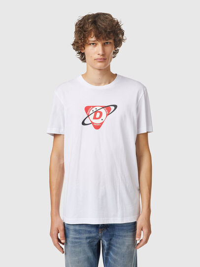 Diesel - T-DIEGOS-K24, White - T-Shirts - Image 1