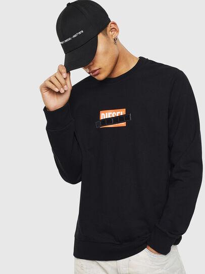 Diesel - S-GIRK-S4, Black - Sweaters - Image 1
