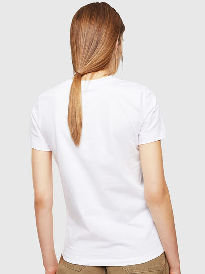 Diesel - T-SILY-001978, White - T-Shirts - Image 2