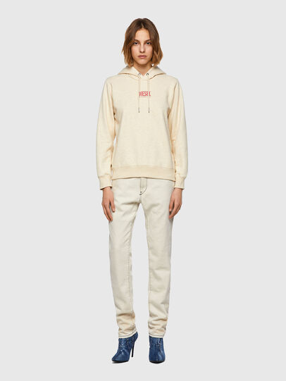 Diesel - F-ANGS-H-ECOSMALLOGO, Pink/White - Sweaters - Image 4