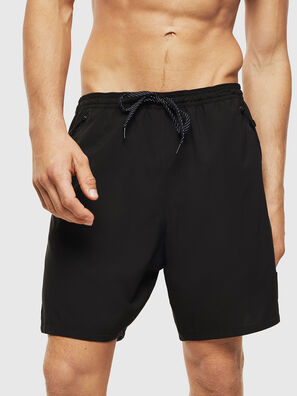 BMBX-TUNA, Black - Swim shorts