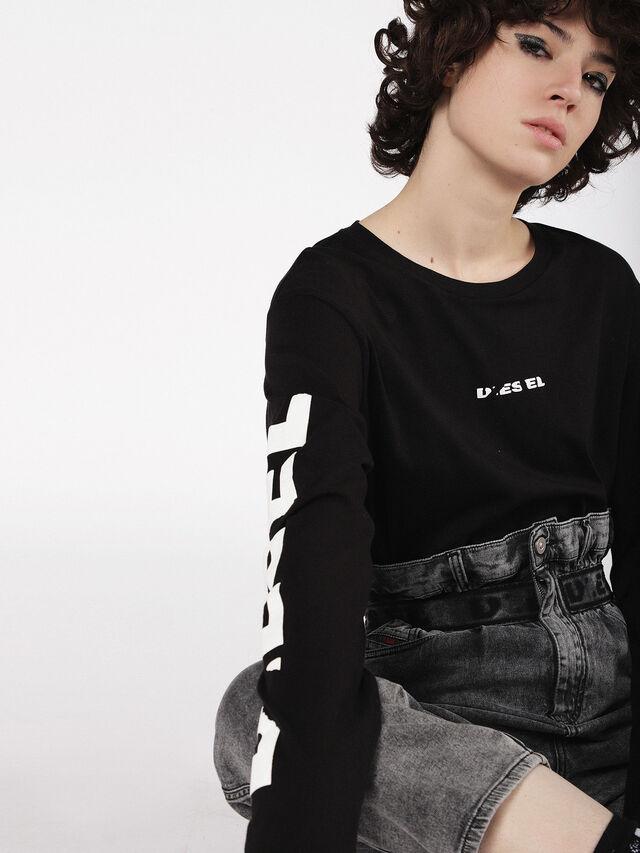 Diesel - Kalley JoggJeans 069AU, Black/Dark grey - Jeans - Image 5