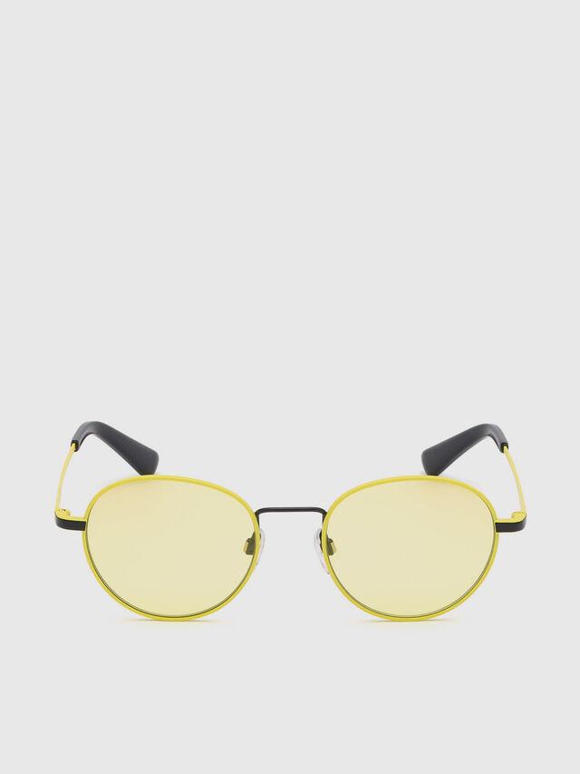 Diesel - DL0290, Yellow - Eyewear - Image 1