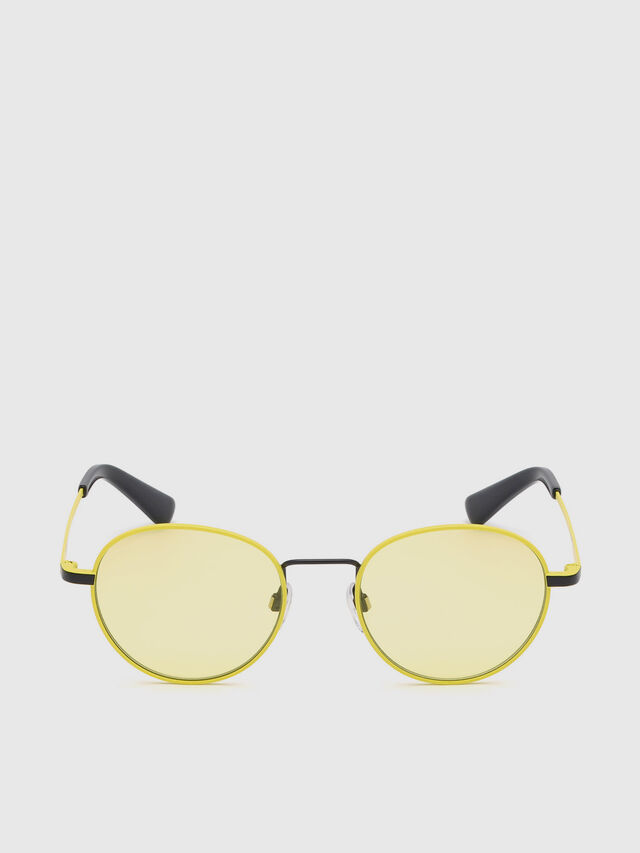 Diesel - DL0290, Yellow - Sunglasses - Image 1