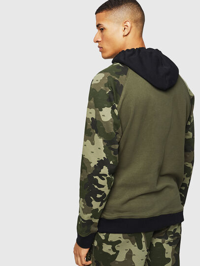 Diesel - UMLT-BRIAN, Green Camouflage - Sweaters - Image 2